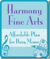 harmony fine arts button