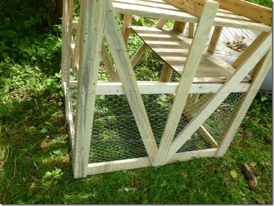 Chicken Coop Pallets