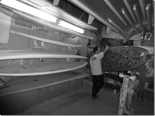 Russo Surfboards SUP Ding Repair