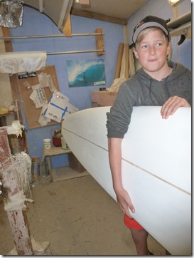 Russo Surfboard Custom Width for groms