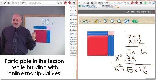 math worksheet : algebra 1 online lessons  math u see  a review  pebblekeeper : Math U See Worksheet
